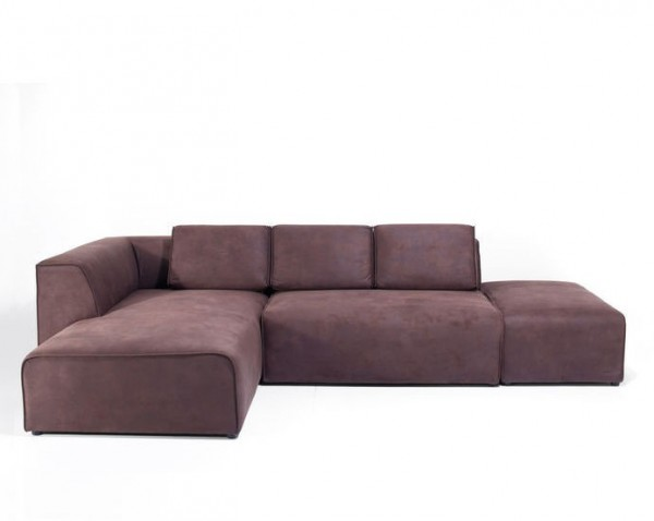 Sofa Infinity Antique 74 Ottomane Left Brown | Nameštaj